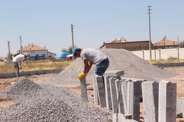Aksaray Belediyesi Hürriyet Mahallesine yeni oyun parkı yapıyor