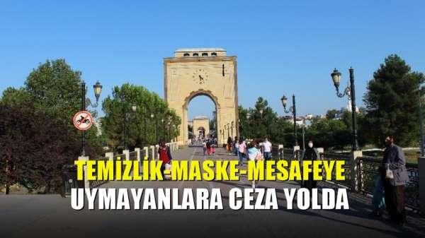 Temizlik-maske-mesafeye uymayanlara ceza yolda