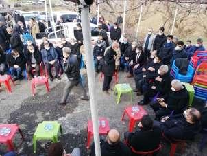 Sason Belediye Başkanı Arslan, toprağa verildi