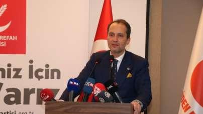Yeniden Refah Partisi Genel Başkanı Erbakan: 'LGBT propagandasını tasvip etmemiz