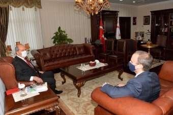 KKTC Cumhurbaşkanı Tatar, İngiltere Dışişleri Bakanı Raab ile görüştü