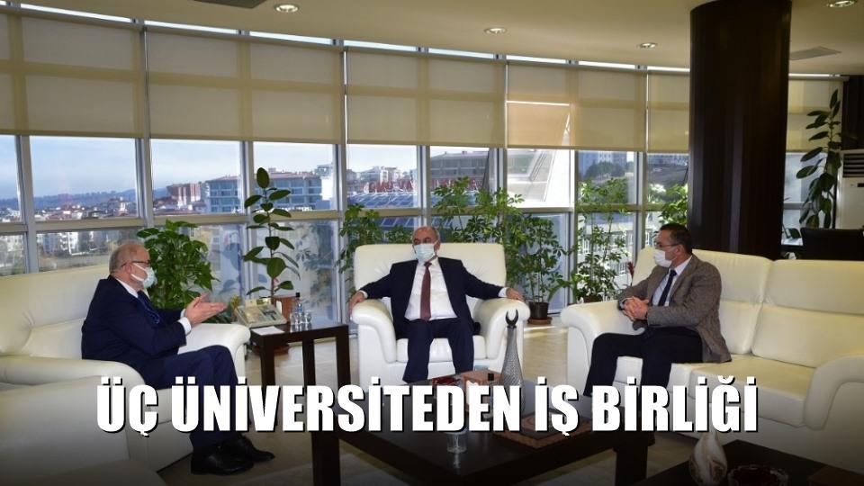 Üç üniversiteden iş birliği