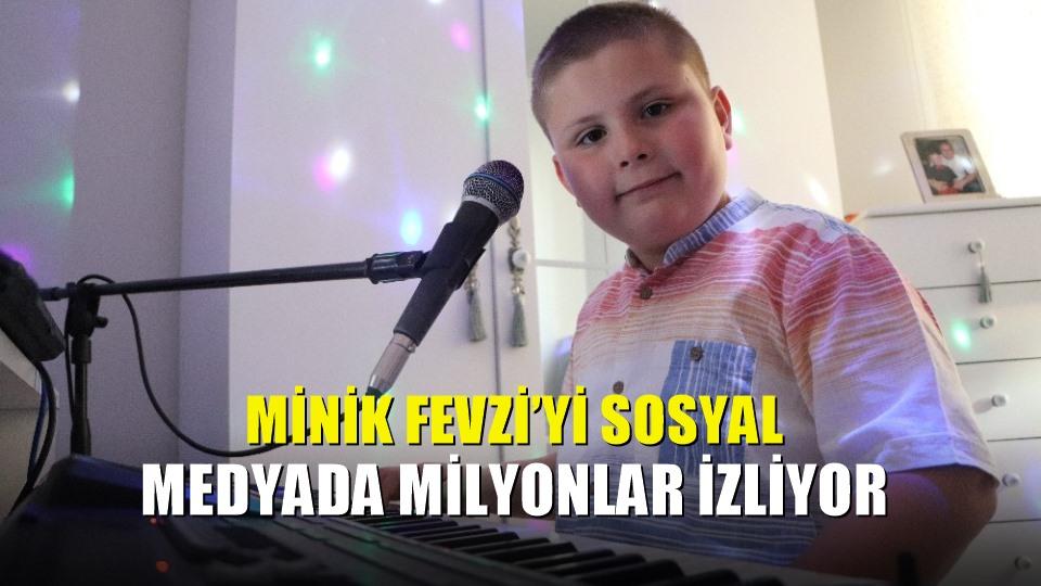 Minik Fevzi'yi sosyal medyada milyonlar izliyor