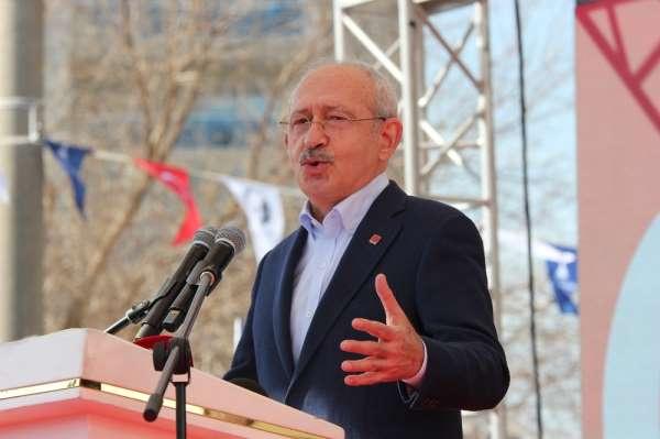 CHP lideri İzmir'de konuştu
