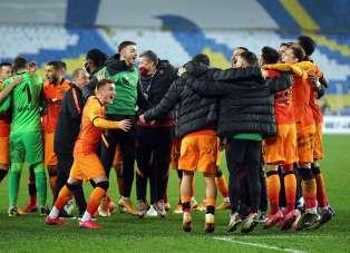 Galatasaray'dan üst üste 5 galibiyet