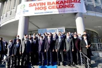 Bakan Karaismailoğlu'ndan Malatya Büyükşehir Belediyesi'ne ziyaret