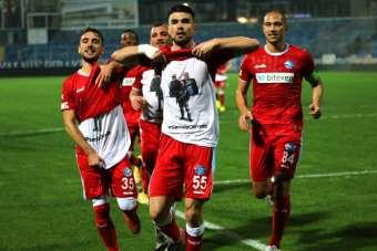 TFF 1 Lig: Adana Demirspor: 1 - Ankaraspor: 0 İlk yarı