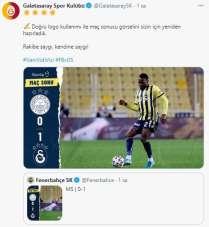 Galatasaray'dan Fenerbahçe'ye cevap