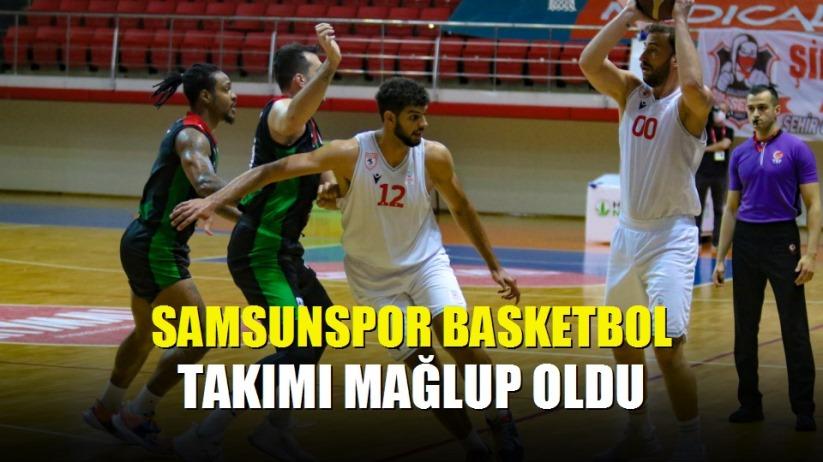 Samsunspor basketbol takımı mağlup oldu