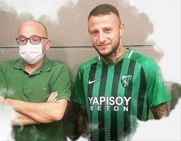 Kocaelispor'dan yeni transfer: Aydın Karabulut