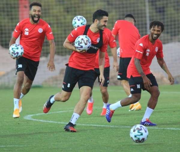 Antalyaspor, Gençlerbirliği maçının taktiğini çalıştı