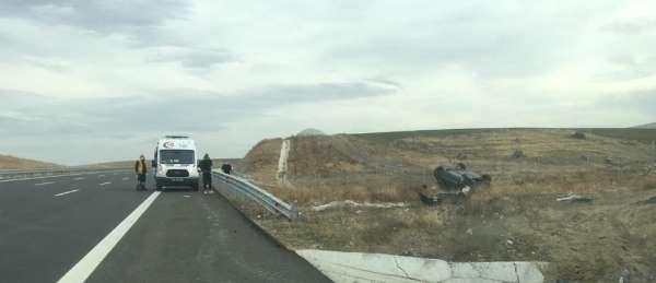 Ankara-Niğde yolunda trafik kazası: 2 yaralı