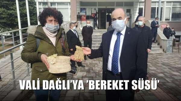 Vali Dağlı'ya 'bereket süsü'