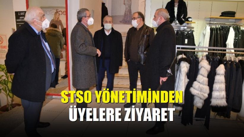 STSO yönetiminden üyelere ziyaret