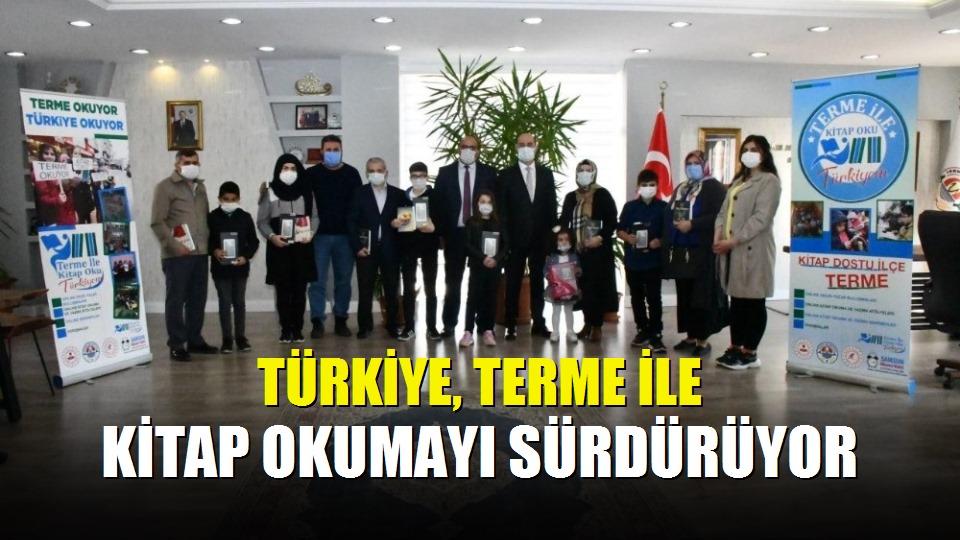 Türkiye, Terme ile kitap okumayı sürdürüyor