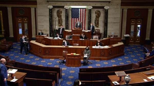 ABD Temsilciler Meclisi, Trump'ın azil süreci için bir araya geldi