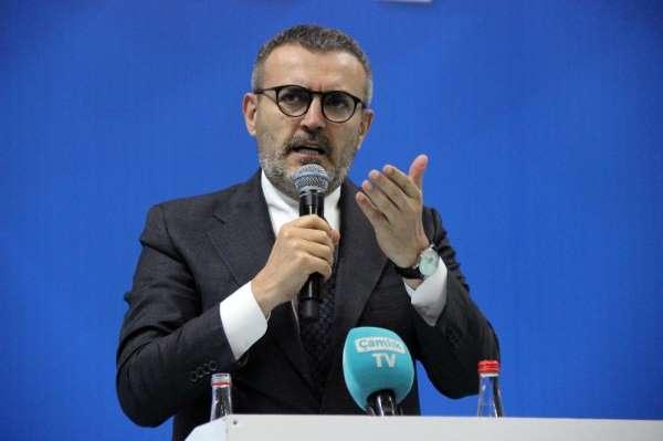 AK Parti Genel Başkan Yardımcısı Ünal: 'Türkiye'nin enerjisini tüketmek isteyenl