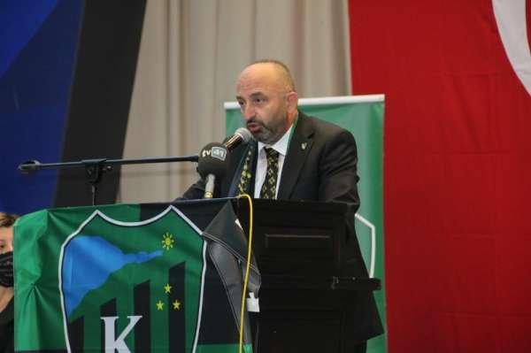 Kocaelispor'da Hüseyin Üzülmez yeniden başkan seçildi