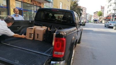 Yılbaşı yaklaşırke, yüzlerce şişe sahte içki ele geçirildi