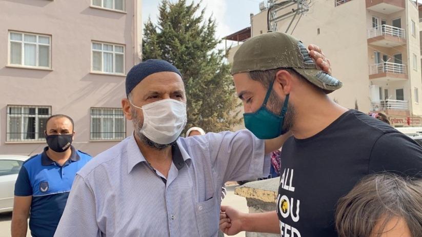 Ünlü şarkıcı Yusuf Güney'den yangın mağdurlarına moral ziyareti