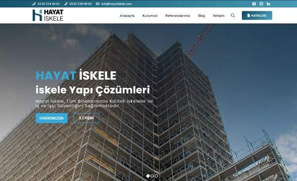 Ankara Güvenlikli Kiralık İskele