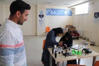 BEÜ ürettiği drone ile teknofest yarışmasına katılacak