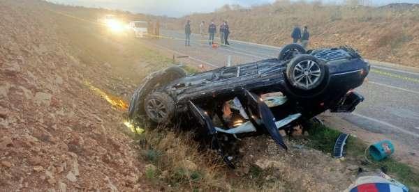 Kilis'te feci kaza: 1 ölü, 4 yaralı