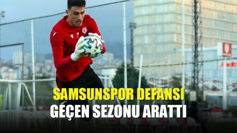 Samsunspor defansı geçen sezonu arattı