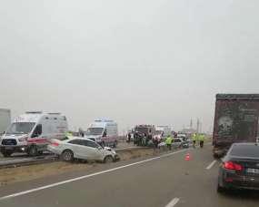 Kırşehir'de trafik kazası: 5 yaralı