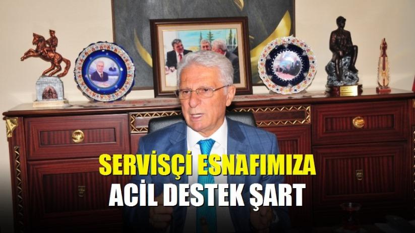 TŞOF Genel Başkanı Apaydın: 'Servisçi esnafımıza acil destek şart'