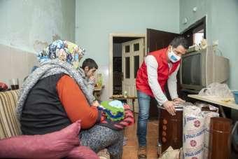 Büyükşehir Belediyesinden Gülay teyzeye yardım eli