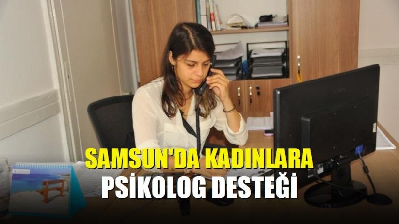Samsun'da kadınlara psikolog desteği