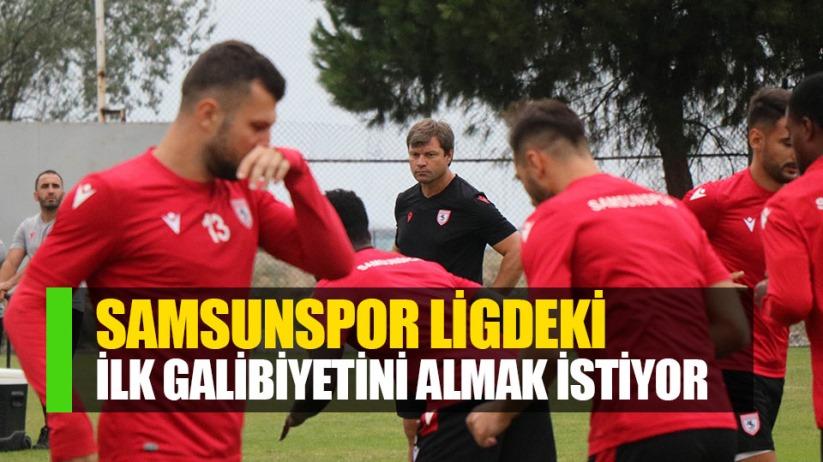 Samsunspor ilk galibiyetini