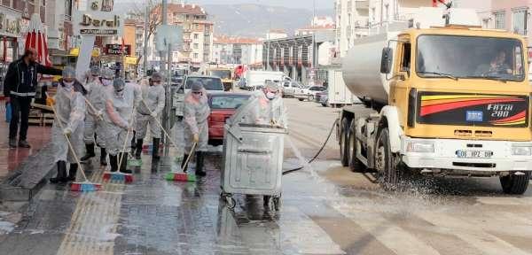 Sincan Belediyesi ekiplerinden temizlik seferberliği