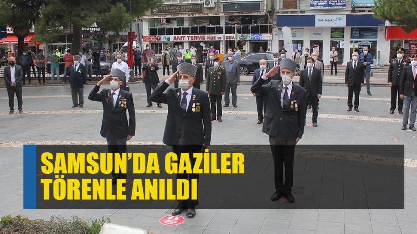 Samsun'da Gaziler Gününde gaziler anıldı