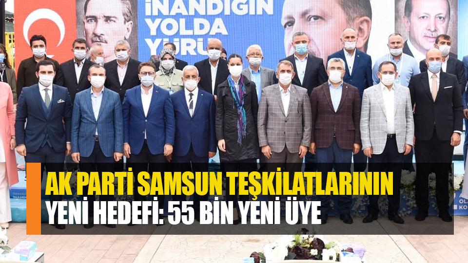 AK Parti Samsun teşkilatlarının için yeni hedef: 55 Bin Yeni üye