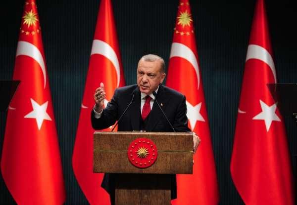 Cumhurbaşkanı Erdoğan: 'Kıbrıs ve Doğu Akdeniz'de sırf Türkiye'ye olan husumetle