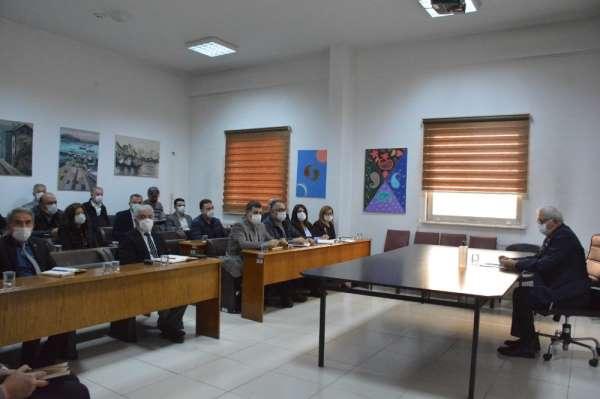 Kdz. Ereğli Belediyesinde koordine toplantısı yapıldı
