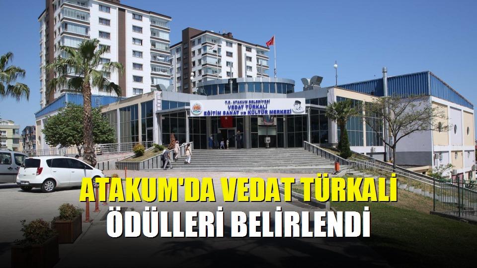 Atakum'da Vedat Türkali Ödülleri belirlendi