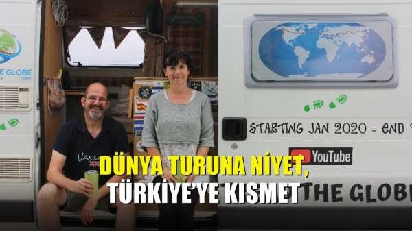 Dünya turuna niyet, Türkiye'ye kısmet