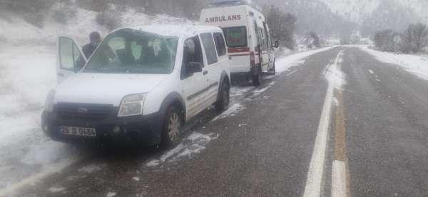 Tunceli'de trafik kazası: 4 yaralı