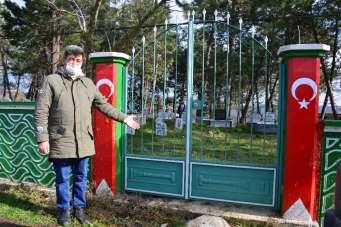 Sakarya Büyükşehir Belediyesinin yapacağı işi mahalleli yaptı