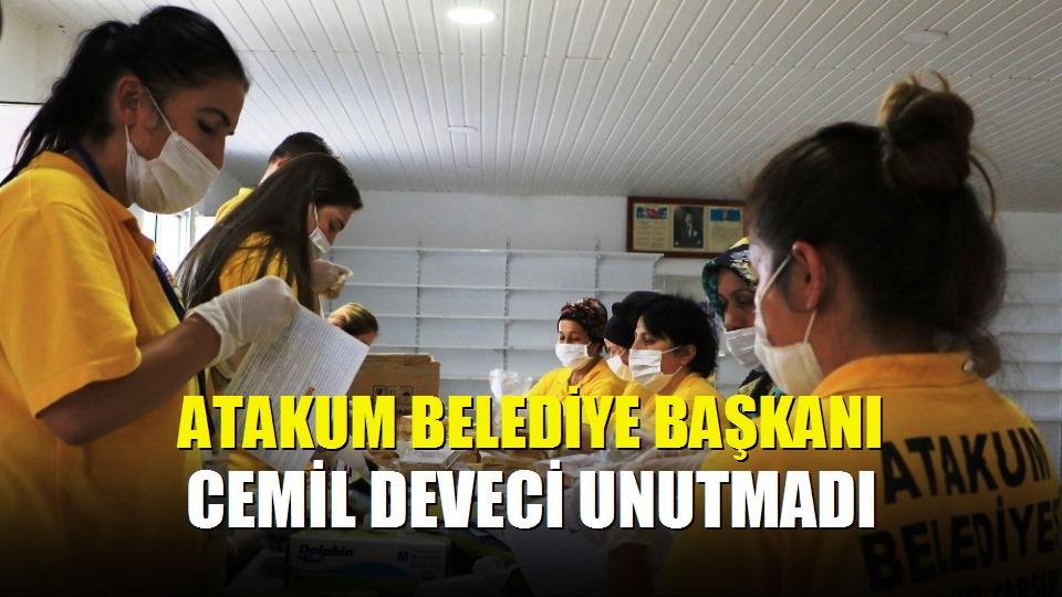 Atakum Belediye Başkanı Cemil Deveci unutmadı