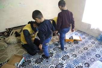 Haliliye Belediyesinden ihtiyaç sahibi çocuklara kıyafet yardımı