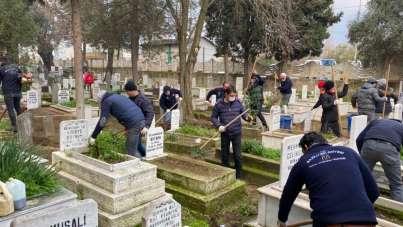 Nazilli Belediyesi hafta sonu mesailerini sürdürüyor
