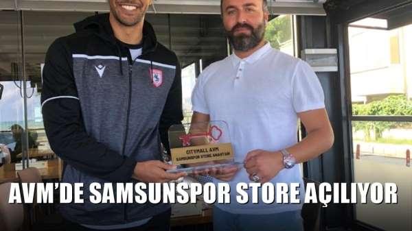 AVM'de Samsunspor Store açılıyor