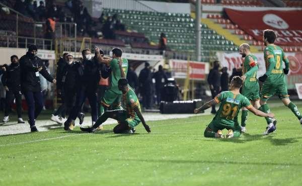 Süper Lig: Aytemiz Alanyaspor: 4 - MKE Ankaragücü: 3 (Maç sonucu)