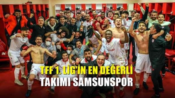 TFF 1 Lig'in en değerli takımı Samsunspor
