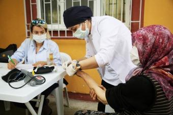 Atakum'da sağlık taraması