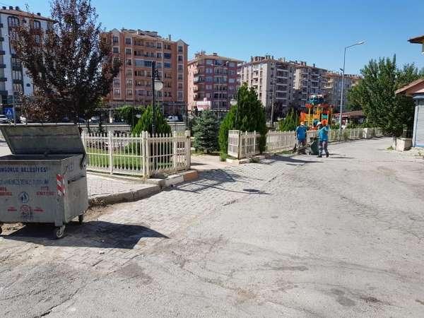 Sungurlu Belediyesi'nden temizlik seferberliği